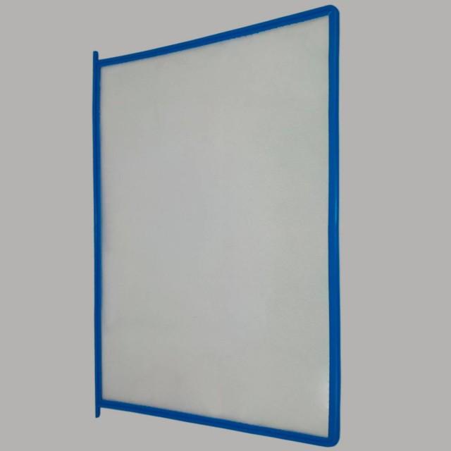 Карман синий для перекидной демосистемы