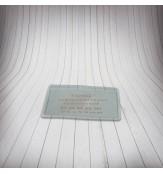 Карман-бейдж BDG 95х58 (с отверстием)