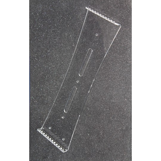 Настенная перекидная система А4; 10 карманов, держат. акриловый 3мм