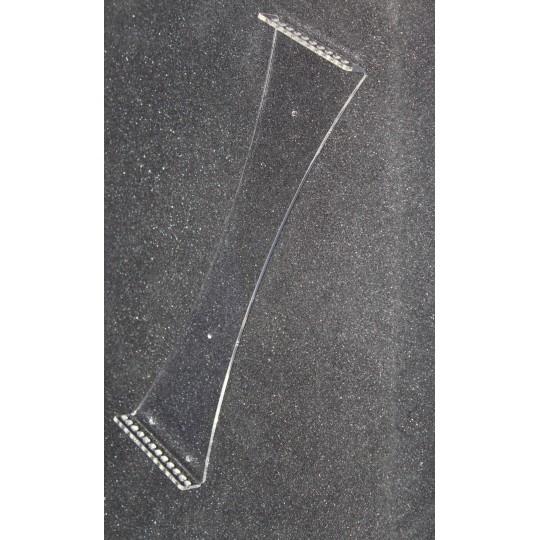 Настенная перекидная система А4; 10 карманов, держат. акриловый 3мм,фигурна