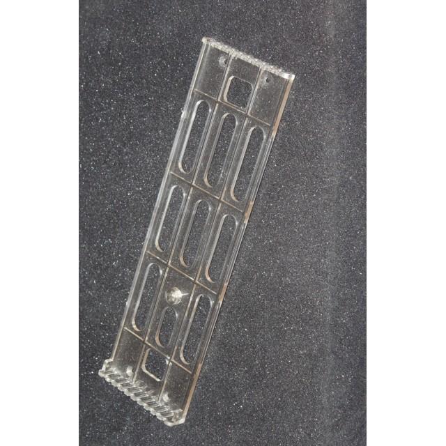 Настенная перекидная система А4; 10 карманов, держат. прозрачный пластик