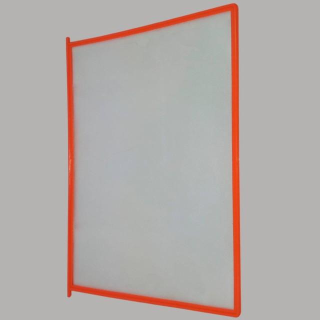 Карман оранжевый для перекидной демосистемы